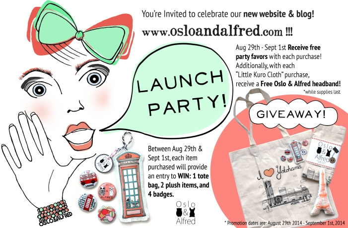 O&A Launch Party Invite