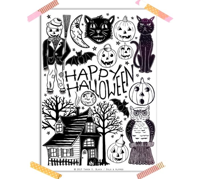 My Vintage Halloween etsy listing